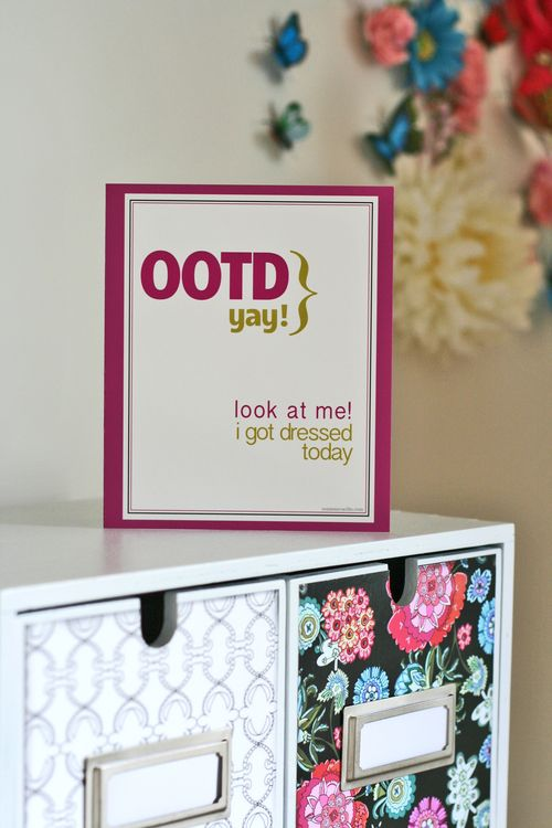 OOTD blogger greeting card suzanne carillo