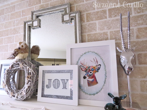 Christmas mantle decorations and ideas