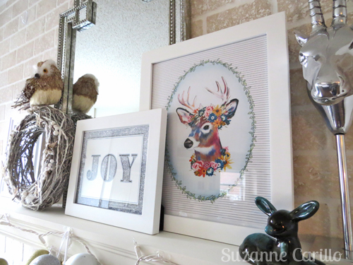 Christmas mantel decoration ideas.
