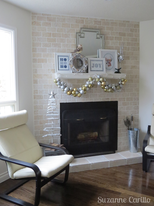 Christmas mantel decorations ideas.
