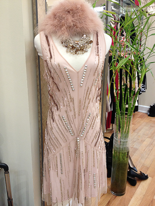 New Years Eve Dresses 1920's style sequinned dress
