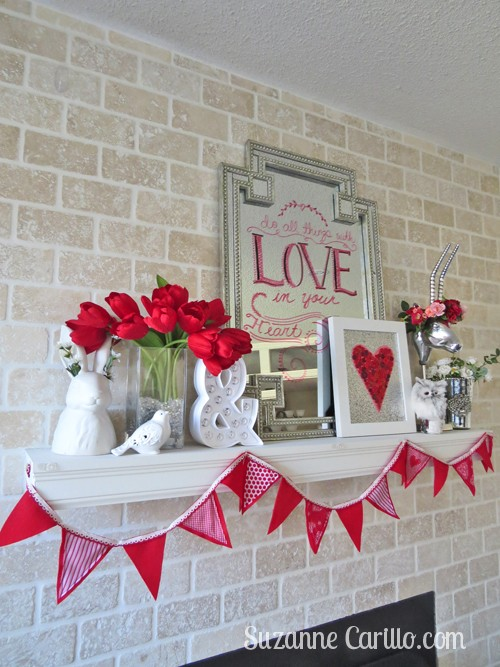 Valentine Day home decor ideas