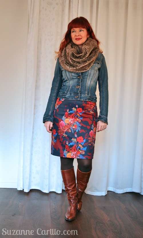 How to layer for winter Suzanne Carillo
