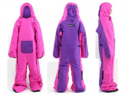 How to wear a sleeping bag