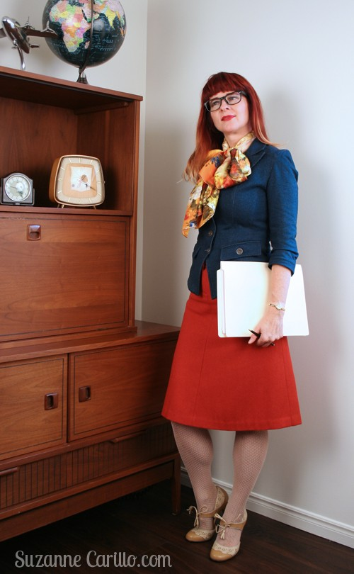 Mad Men inspired dressing