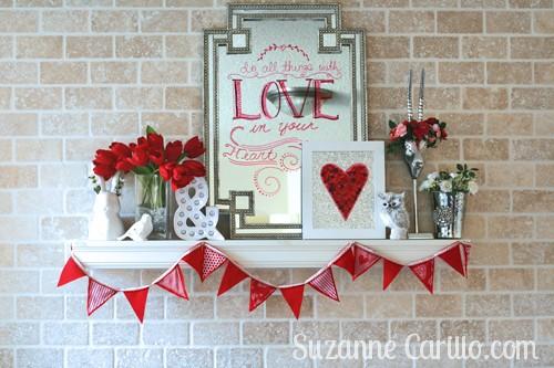 Valentine Day Home Decor Ideas I 39 M A Genius Suzanne Carillo