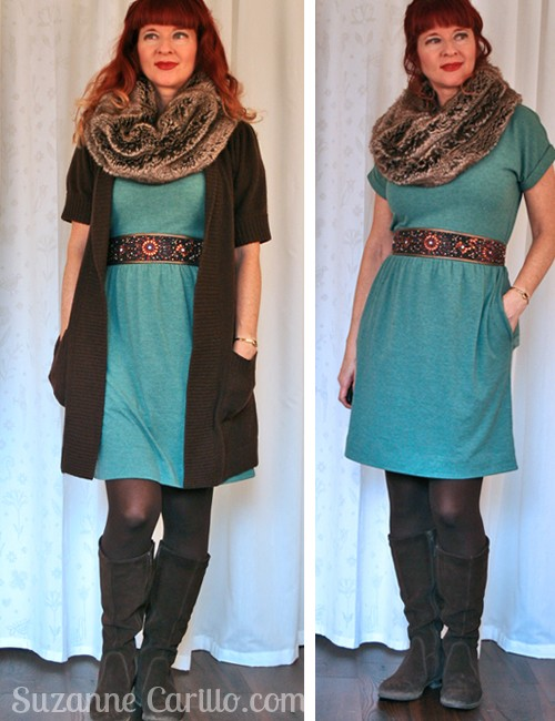 Warm fashionable winter outfits