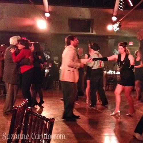 Lindy hop dancing Palais Royale Toronto
