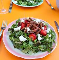 Easy strawberry salad recipe