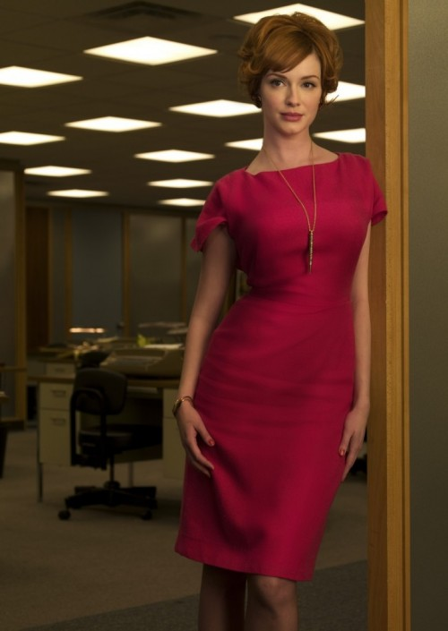Joan-From-Mad-Men-sheath dress