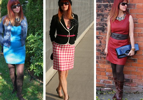 how to style a sheath dress over 40