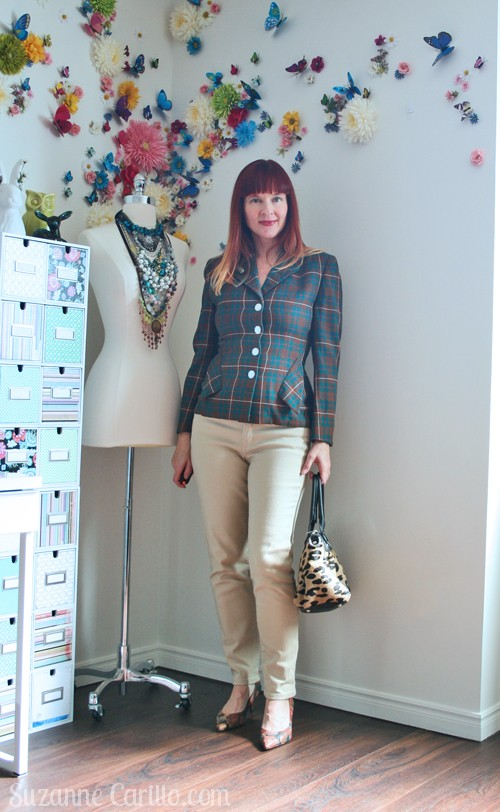 How to wear vintage clothing when you are over 40