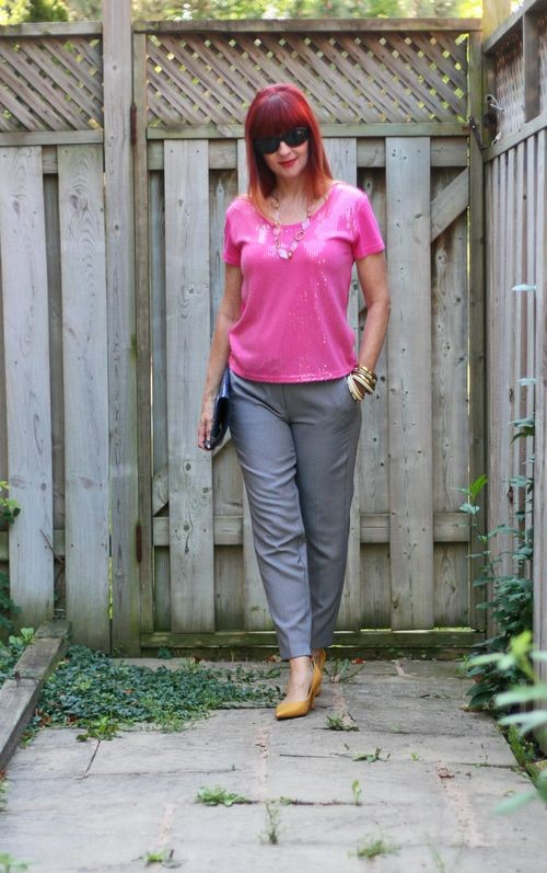 spring style inspiration for women over 40