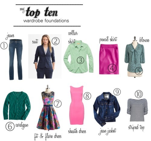 Top 20 wardrobe fundamentals for women over 40