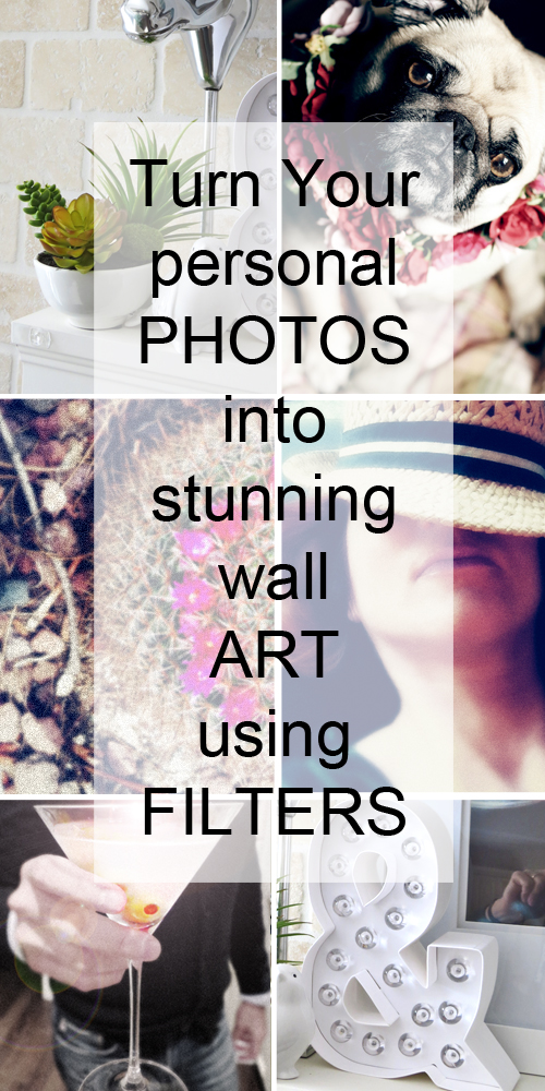 turn photos into wall art using filters suzanne carillo. Black Bedroom Furniture Sets. Home Design Ideas
