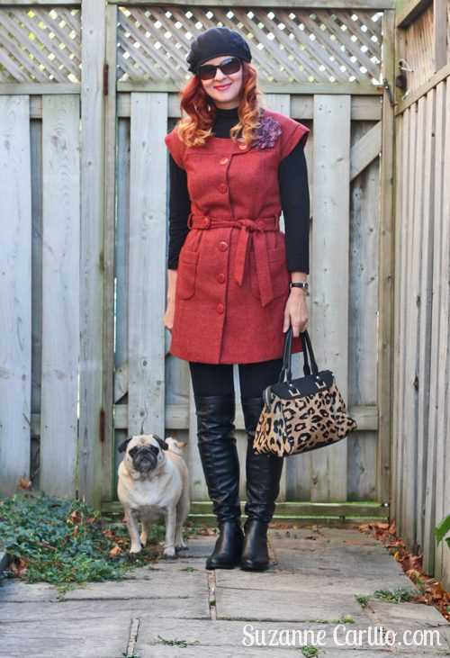 a gal and her pug