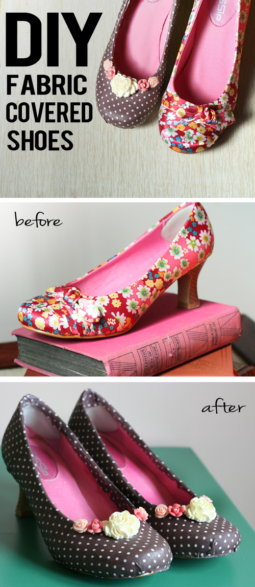 Diy Fabric Covered Shoes Suzanne Carillo