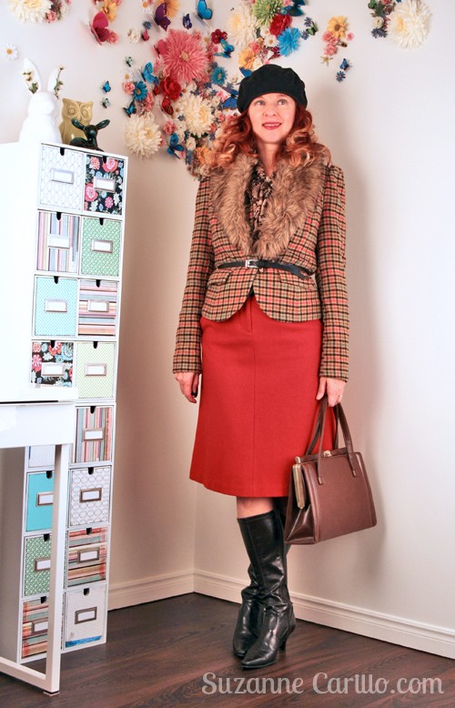 How to style vintage inspired clothing over 40