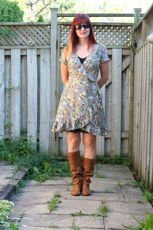 How to lengthen a short dress without sewing