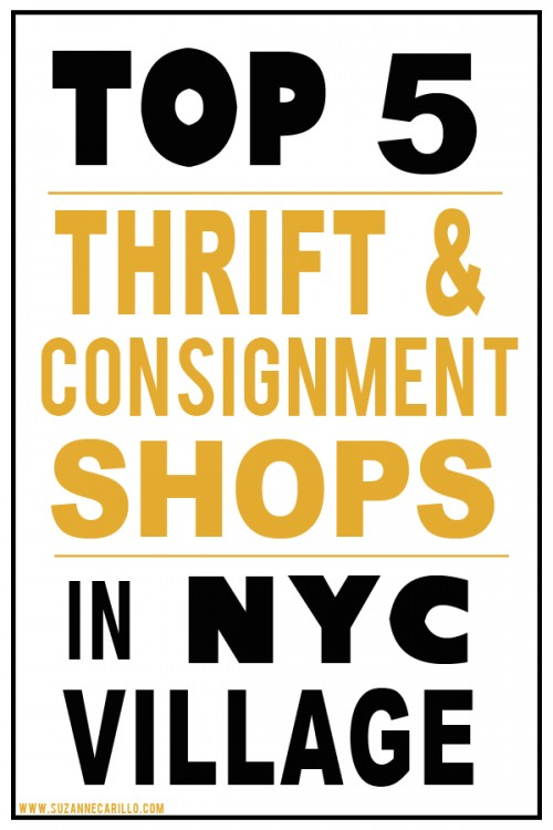 top 5 thrift and consignment shops nyc