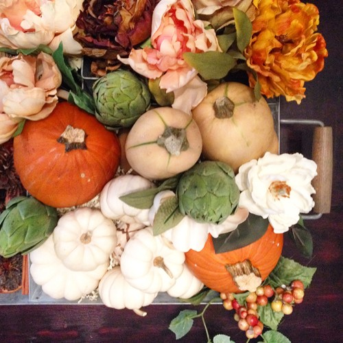 easy thanksgiving table centerpiece suzanne carillo