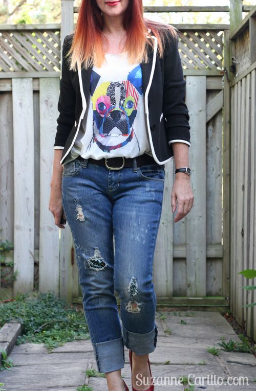 How To Dress Up A Graphic Tee Suzanne Carillo