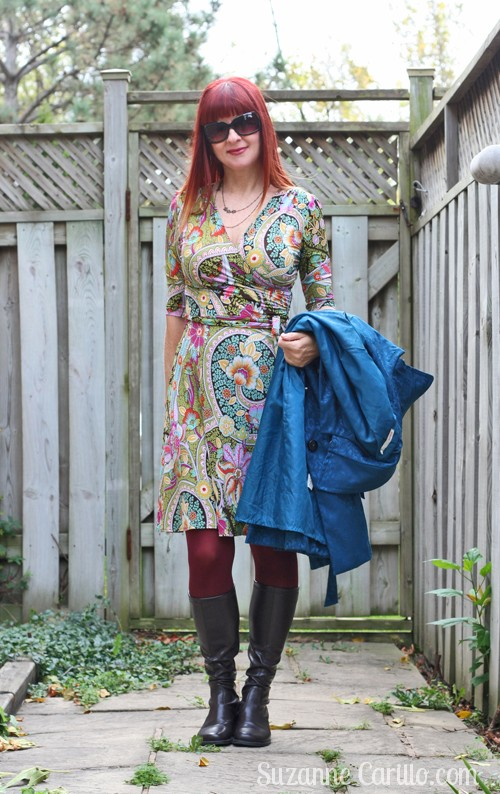 how to wear bold colours over 40