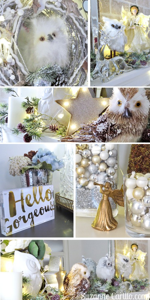 christmas mantel home bar decoration ideas suzanne carillo
