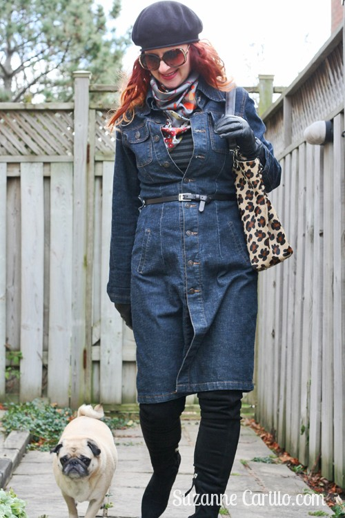 how to style a denim dress 1970s style suzanne carillo