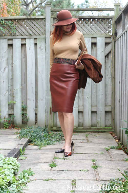 how to wear leather over 40 suzanne carillo