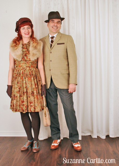 how to wear 1940s vintage style for men and women suzanne carillo