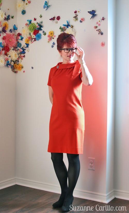 1960s vintage dress suzanne carillo