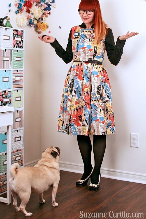 blogger and pug suzanne carillo
