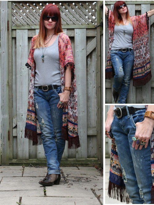 distressed jeans over 40