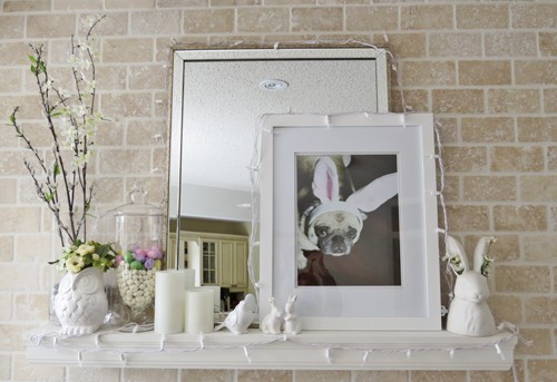 easter home decor ideas for fireplace mantel suzanne carillo