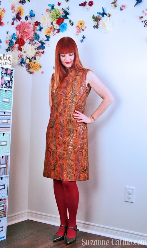 vintage dress styled contemporary for women over 40 suzanne carillo