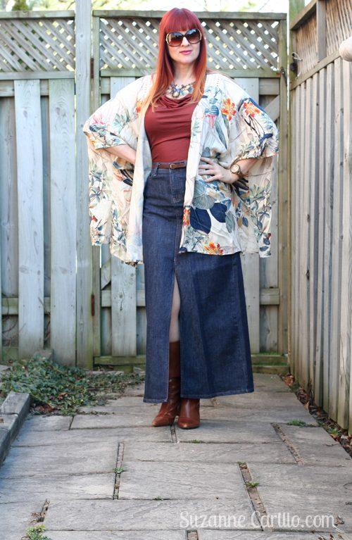 how to style a kimono over 40 suzanne carillo