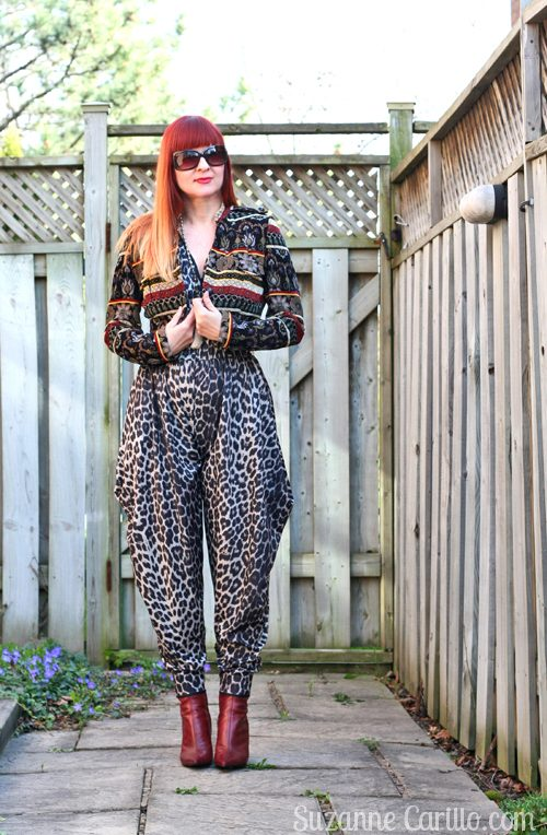 how to wear animal print from head to toe over 40 suzanne carillo