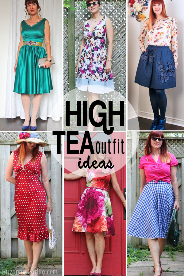 Outfit Ideas For High Tea - Suzanne Carillo