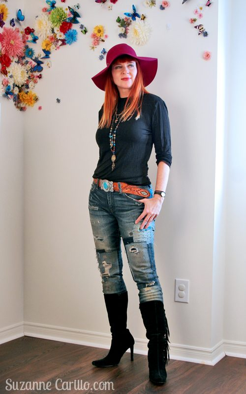 how to wear hippie style over 40 suzanne carillo
