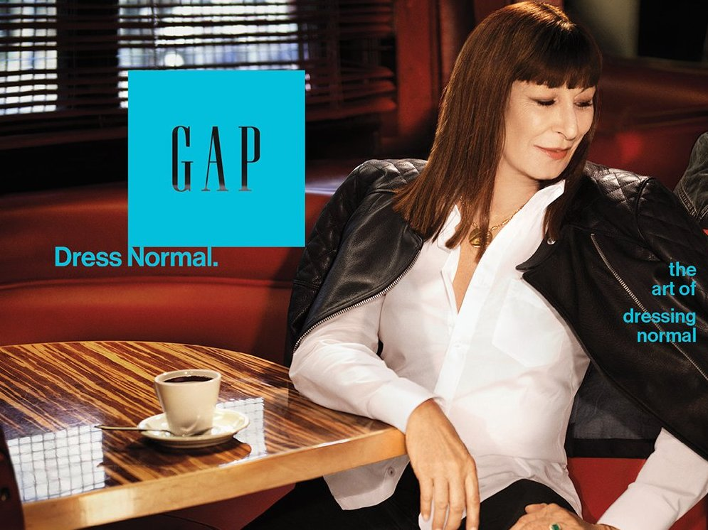Gap dress normal campaign