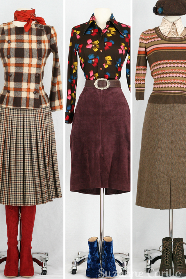 Vintage by Suzanne Etsy store Toronto Vintage Clothing show outfit ideas