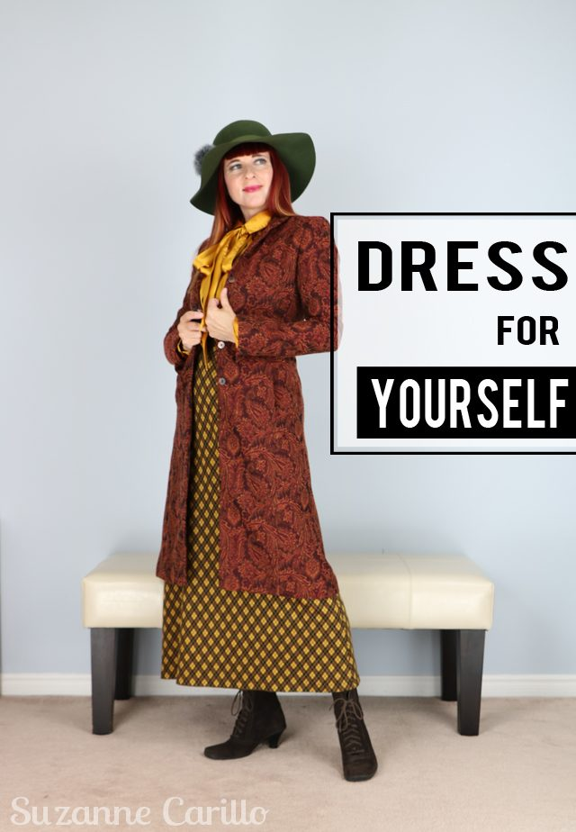 how to dress for yourself not in a costume
