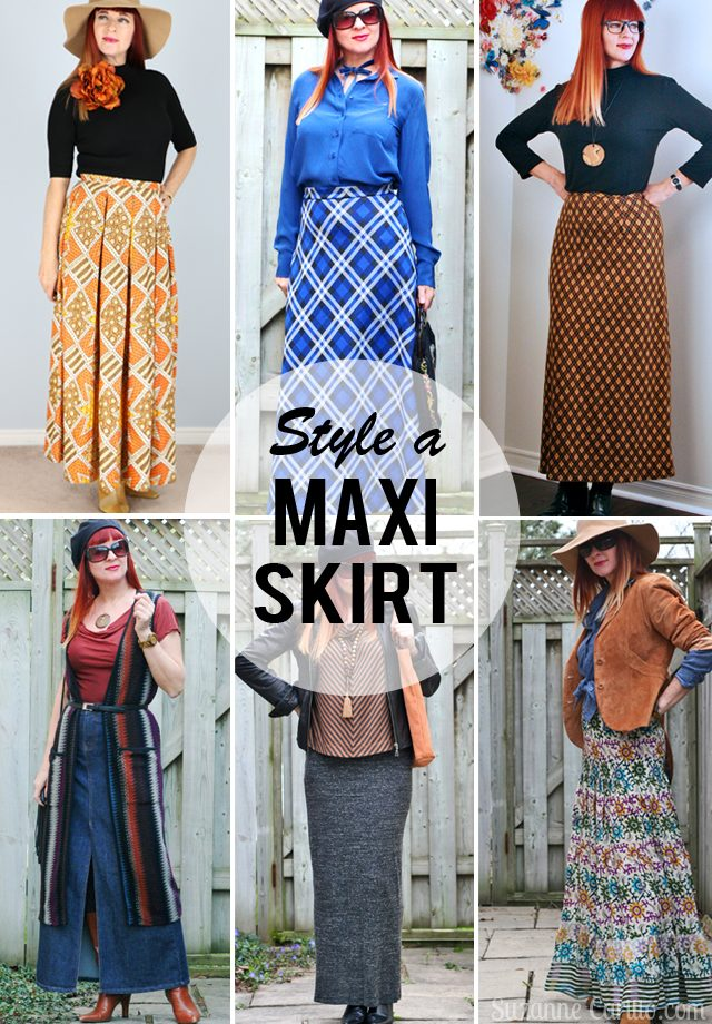 how to wear a maxi skirt for fall style for the uncommon woman over 40