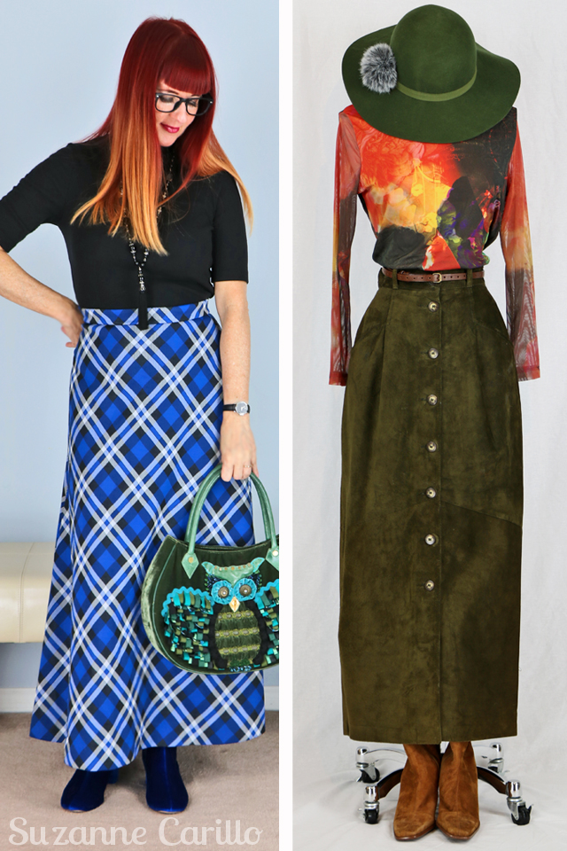 how to style a maxi skirt for fall suzanne carillo