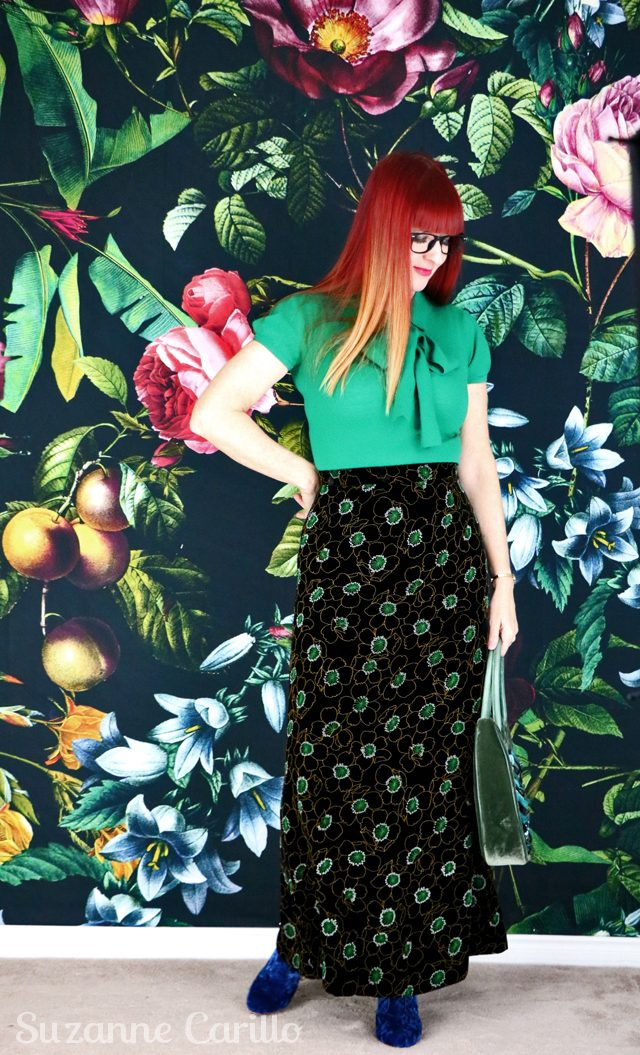 How to style a maxi skirt for fall. how-to-wear-a-maxi-skirt-for-fall-suzanne-carillo