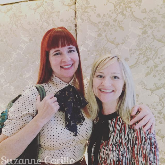 Sherry Dryja and Suzanne Carillo over 40 style bloggers
