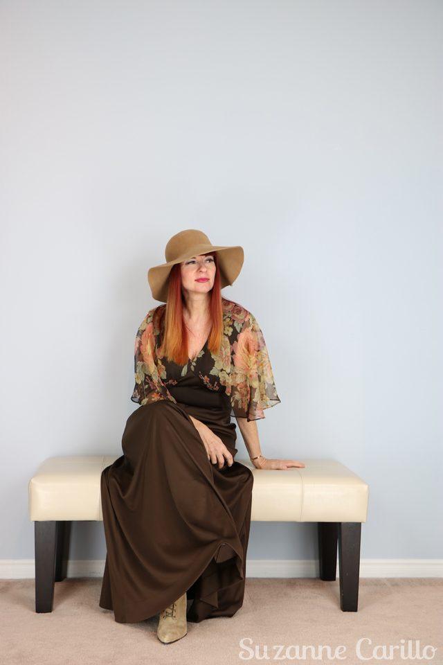 boho vintage 1970s maxi dress for sale vintagebysuzanne on etsy vintage style for women over 40