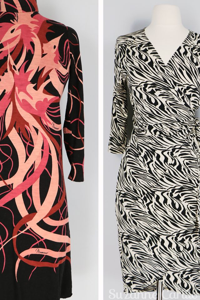 vintage zebra wrap dress vintage style for women over 40