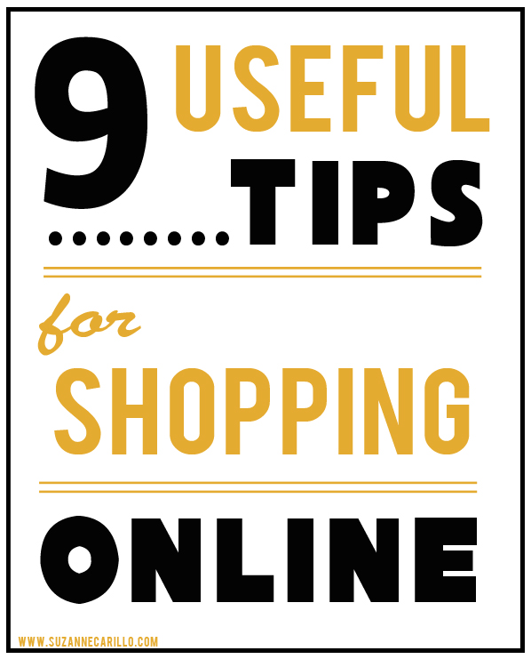 9 useful tips to avoid making mistakes when shopping online